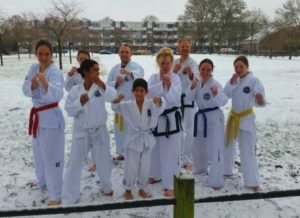 Joong-Gun 2016 vakantie kerst training