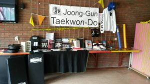 Joong-Gun Taekwon-Do op het Wijkfestival Zwolle-Zuid