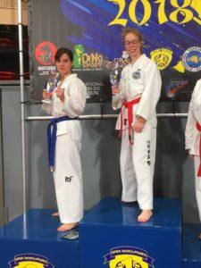 Joong-Gun op de Open Haaglanden 2018 Marijke wint de 2e prijs